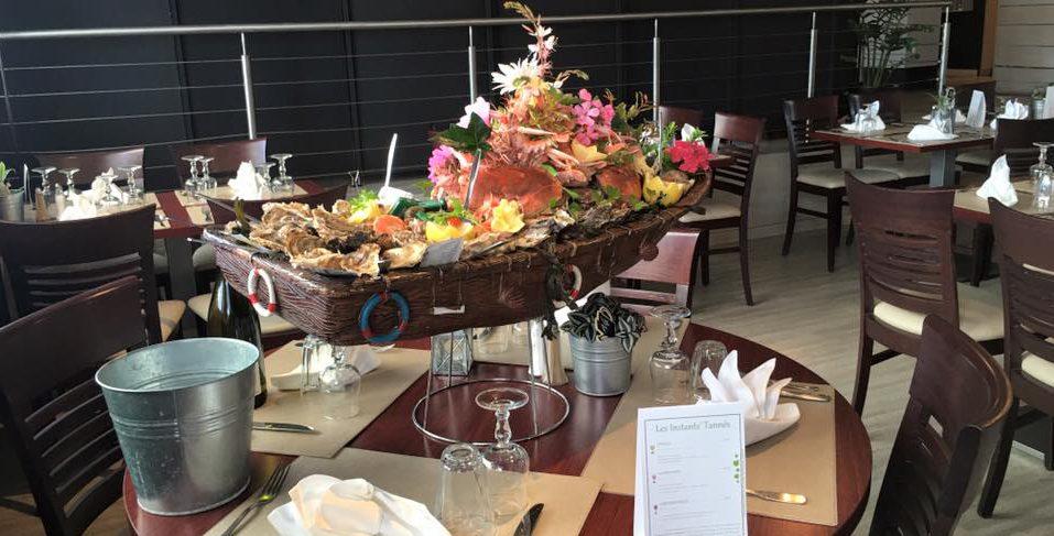 plateau de fruits de mer restaurant sud vendée L'Aiguillon sur Mer